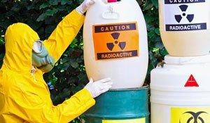 Como deve ser feito o descarte de resíduos radioativos (1)