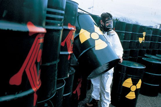 Descarte de resíduos radioativos